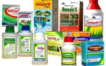 Mẫu giấy hợp quy và dấu hợp quy thuốc bảo vệ thực vật được quy định