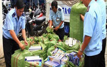 Thuốc lá nhập lậu đảm bảo chất lượng sẽ được bán đấu giá