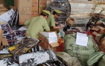 Thu giữ hơn 7.000 sản phẩm thực phẩm Trung Quốc không có hóa đơn chứng từ